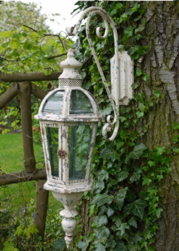 Distressed Hanging Wall Lantern